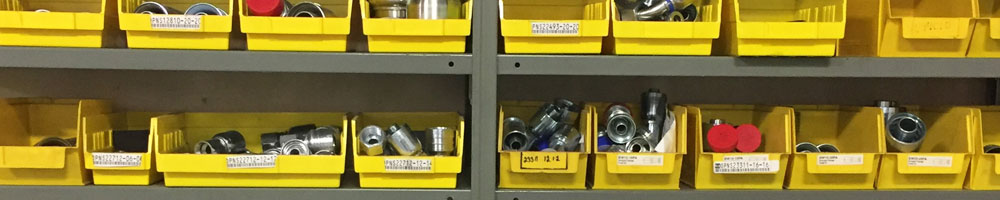 Bins of bearing supplies