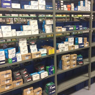 Inventory of bearing equipment